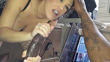 "Sexy cam model ""cali"" blow job pro, presented by that dude"